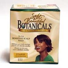 Soft & Beautiful Botanicals Relaxer Kit Coarse